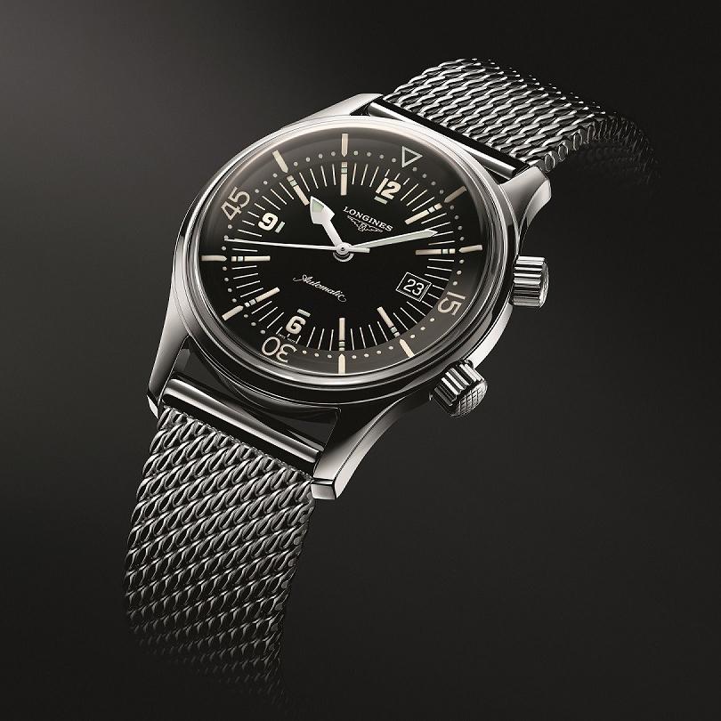 浪琴表推出经典复刻系列传奇潜水员腕表