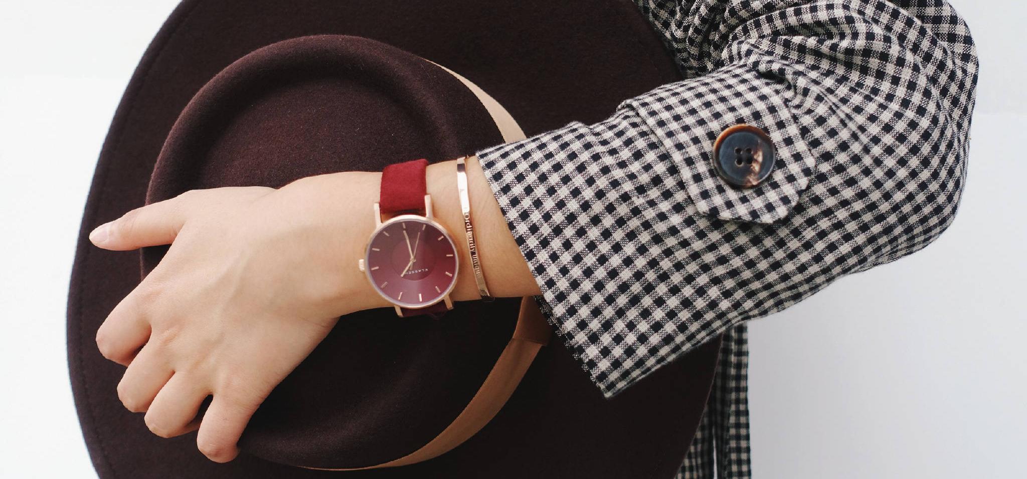 原来手表还可以这样戴,时尚又吸睛。