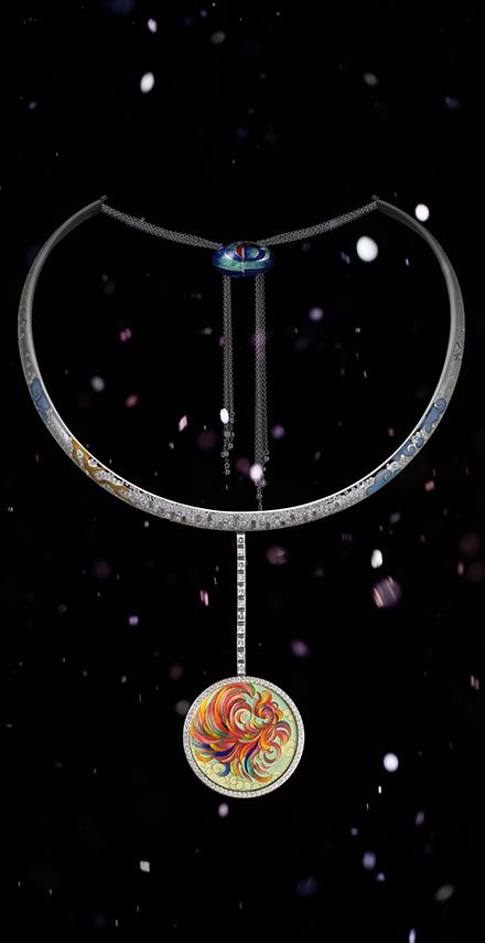 赫美珠宝SHIRLEY ZHANG高级珐琅珠宝 时空