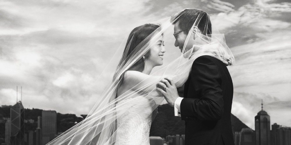 汤唯金泰勇婚纱照曝光 带着爱与尊重携手同行!