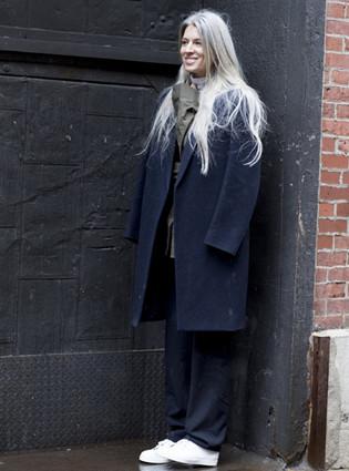纽约秋冬时装周潮人街拍