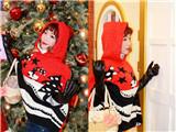 圣诞甜美可人小红帽妆