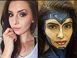 神奇的木偶化妆术画法