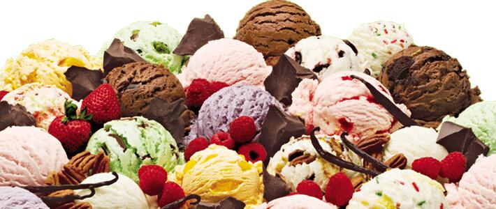 在下面诱人的冰淇淋口味里,选出你的最爱